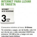 Promoción internet para llevar de tarjeta de Yoigo