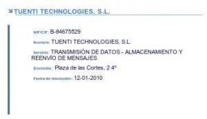 Tuenti Technologies, el operador
