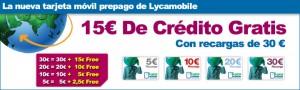 Lycamobile, nueva tarjeta prepago