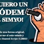 Concurso Simyo: Consigue un módem Huawei E1750 libre gratis