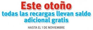 Recargas extra gratis de Lebara Móvil octubre del 2010