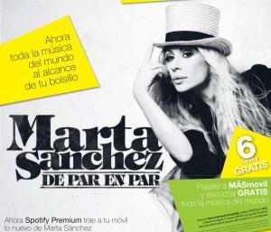 Marta Sánchez Spotify en 20 minutos