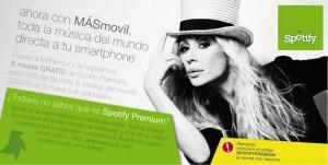 Spotify premium con MÁSmovil