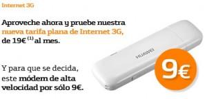 Módem Huawei de 9 euros con Bankinter Móvil