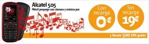 Alcatel 505 Euskaltel prepago