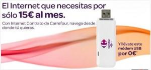 Internet móvil de Carrefour