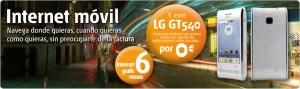 Android LG GT 540 de Euskaltel