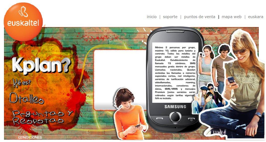 Web de kplan de euskaltel for Https web oficina euskaltel com