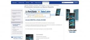 Nokia x6 8 GB por 0 euros con TeleCable