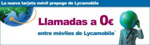 Llamadas móviles Lycamobile gratis 0 céntimos