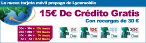 Licamobile: 50% de saldo extra gratis (0 euros)