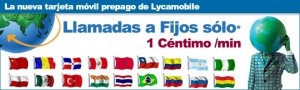 Llamadas a fijos internacionales 1 céntimo