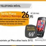Samsung S3370 por 69 euros con la nueva tarifa plana llama y navega de Jazztel Móvil