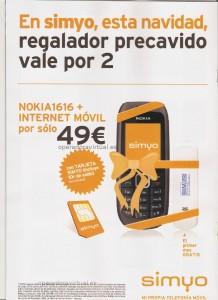 Nokia 1616+ internet móvil por 49 euros