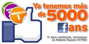 Sorteo Facebook Simyo