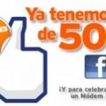 Concurso de Simyo, los 5000 de Facebook