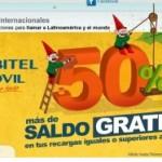 Orbitel Móvil: 50% recarga extra gratis y 1000 minutos gratis entre Orbiteles
