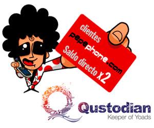 Pepephone y Qustodian