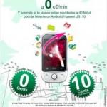 Sorteo Huawei U8110 40 móvil y Tuenti