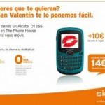 Alcatel OT255 14 euros con Simyo y The Phone House