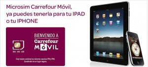 Carrefour Móvil para iPad e iPhone