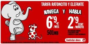 Tarifa Pepephone a 2.9 céntimos/minuto
