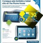 Tablet Android de Yoigo por 39 euros