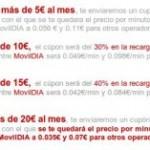 MovilDIA, bonos descuento según consumo