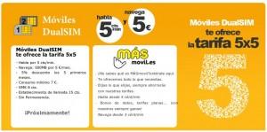Tarifa de MÁSMovil con MovilesDualSIM.com
