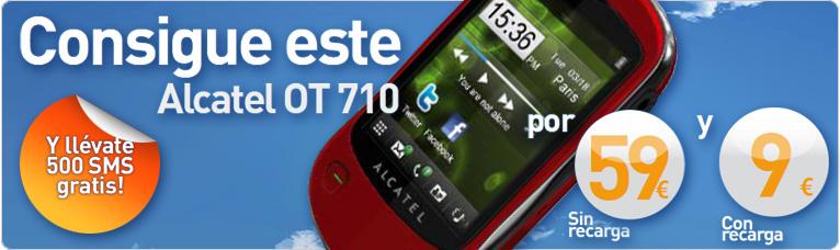 Euskaltel Alcatel OT 710 prepago