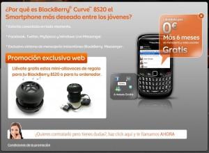 Euskaltel, terminal BlackBerry gratis