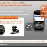 Terminal BlackBerry, 6 meses del servicio y altavoces gratis con Euskaltel