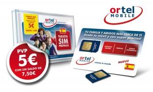 SIM con saldo gratis de Ortel Mobile