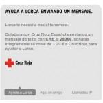 Yoigo solidario con Lorca