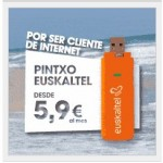 Pincho de Euskaltel por 5.9 euros y doble de internet a clientes de Euskaltel