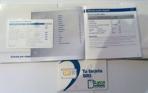 Información manual Lycamobile