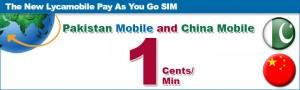 Llamadas a China y Pakistán por 1 céntimo/minuto