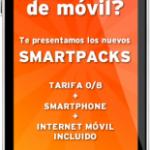 Smartpack, móviles subvencionados de Simyo