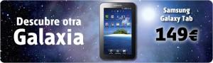 Samsung Galaxy Tab con Euskaltel por 149 euros