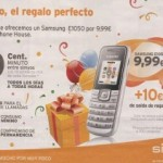 Samsung E1050 por 10 euros con Simyo y The Phone House