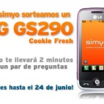 Sorteo de LG GS290 Cookie Fresh con Simyo