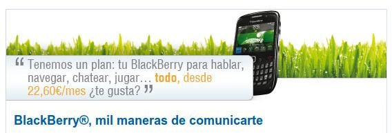 Servicio Telecable de BlackBerry