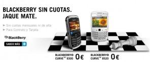 BlackBerry sin cuotas con Yoigo
