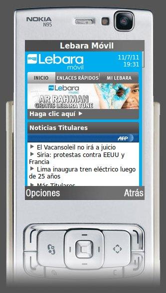 Internet móvil en Lebara Mobile