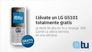 Móvil gratis libre LG GS101