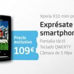 Sony Ericsson Xperia X10 mini pro por 109 euros con Tu
