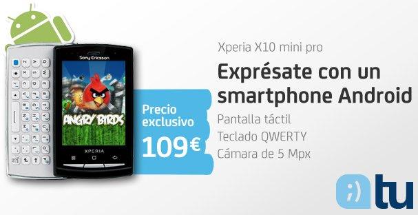 Tu, móvil Xperia X10 mini pro