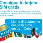 Tarjetas SIM gratis de Lebara Móvil