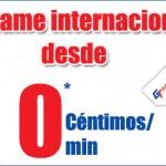 Llamadas internacionales a 0 céntimos/minuto con GT Mobile