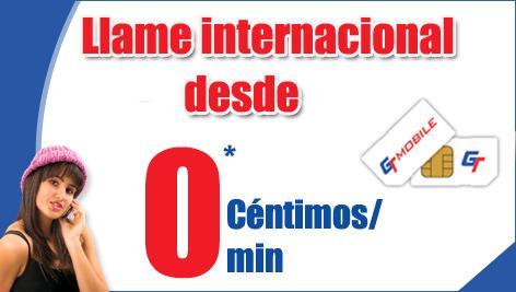 Llamadas internacionales de Lycamobile por 0 céntimos/minuto